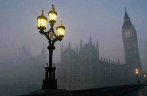 a right pea-souper