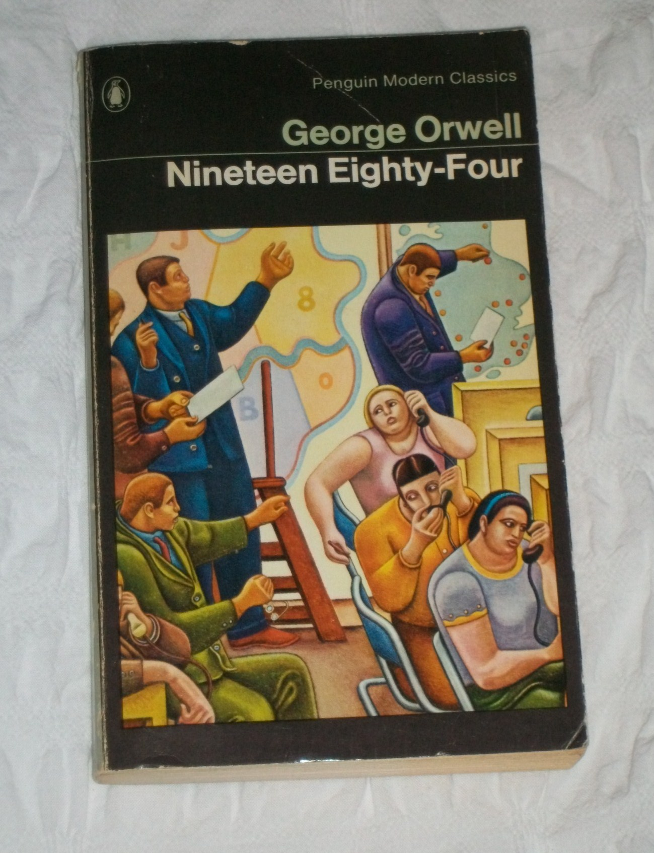 George Orwell Nineteen Eighty-Four doomed literary loves