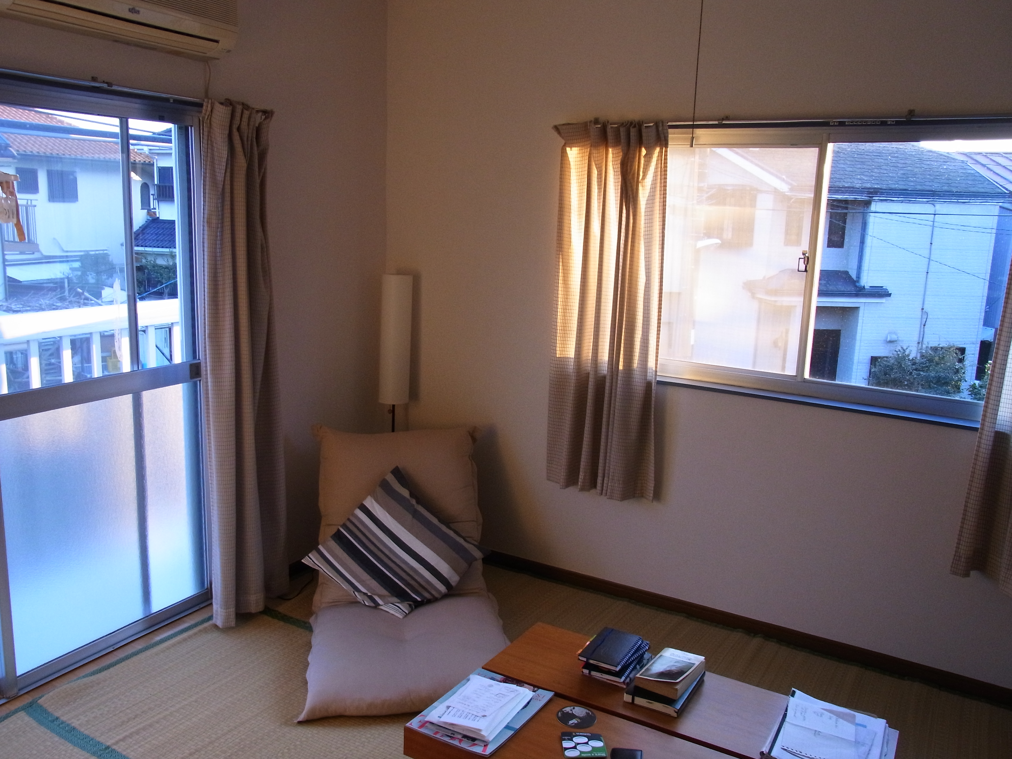first writing desk in Japan