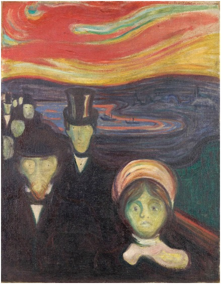 Edvard Munch - Anxiety, 1894