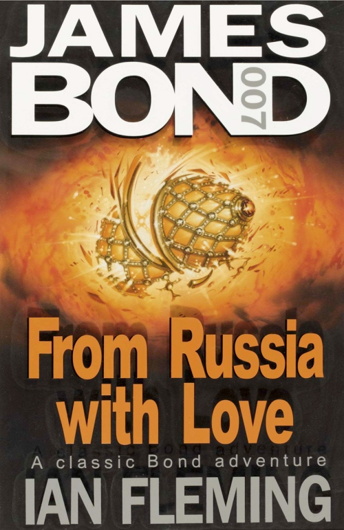 from russia with love coronet book cover