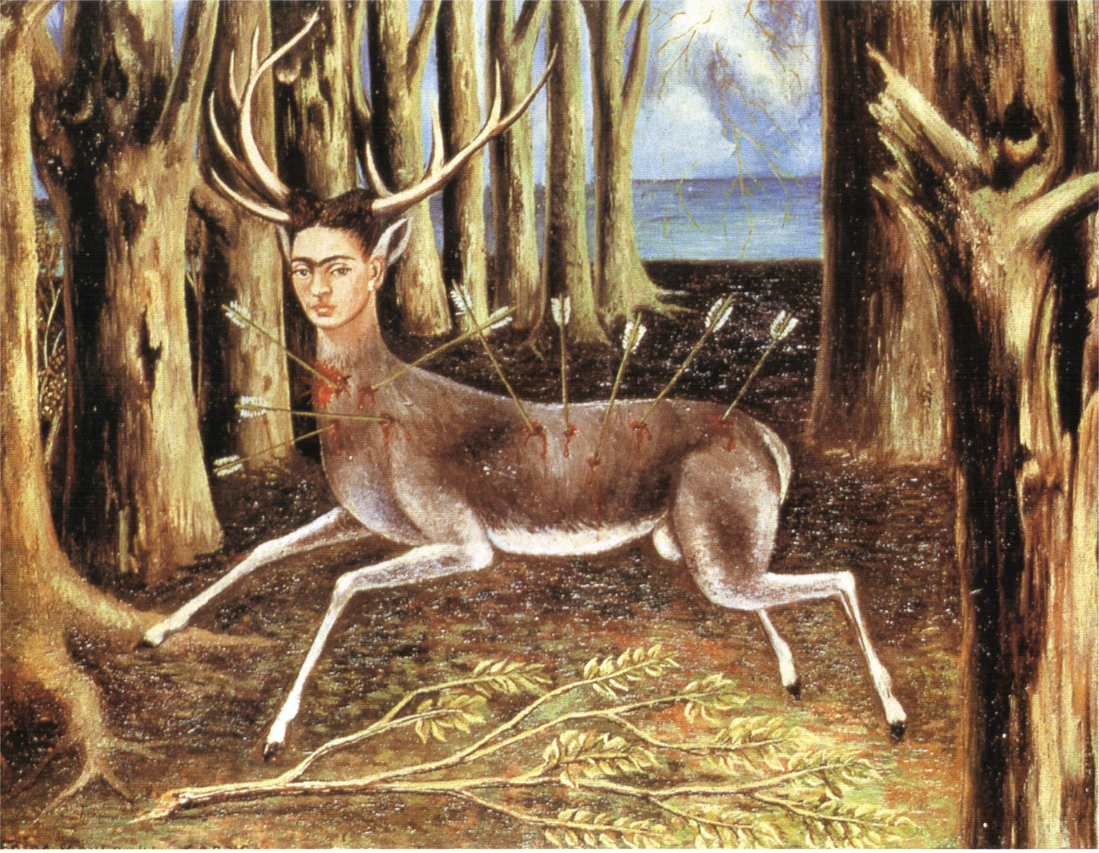 frida kahlo the wounded deer 1946
