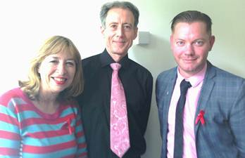 Meriel Box, Peter Tatchell and John Maguire
