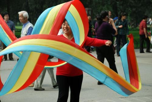 Ribbon Dancer by Nick Liu