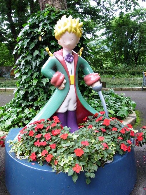 Le Petit Prince at the Museum of the Little Prince Hakone Japan