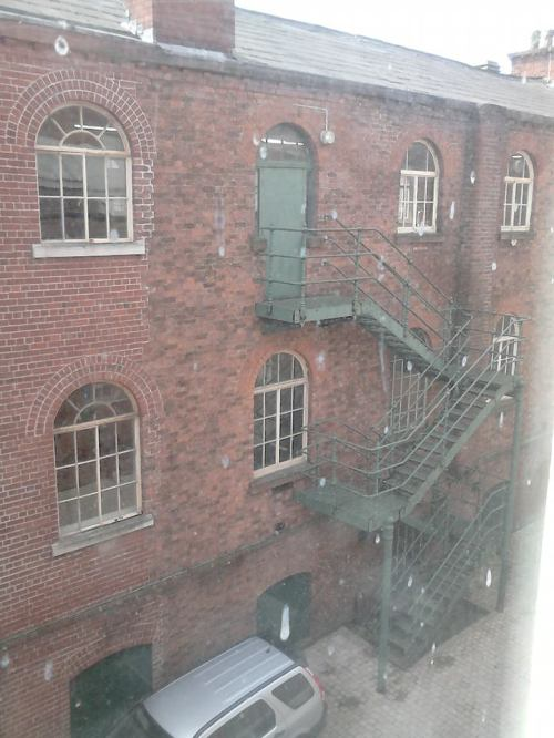 The Old Blind School Liverpool staircase